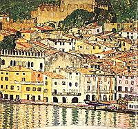 Malcesine on Lake Garda, 1913, klimt