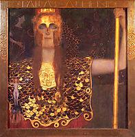 Minerva or Pallas Athena, 1898, klimt
