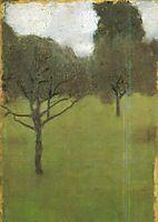 Orchard, 1896, klimt