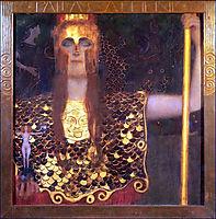 Pallas Athena, 1898, klimt