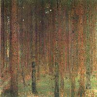 Pine Forest II, 1901, klimt