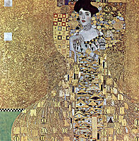 Portrait of Adele Bloch-Bauer I, 1907, klimt