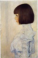 Portrait of Helene Klimt, 1898, klimt