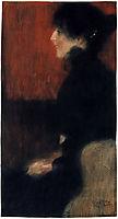 Portrait of a Lady, 1897, klimt