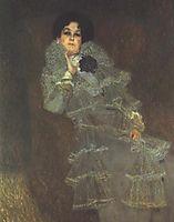 Portrait of Marie Henneberg, 1902, klimt