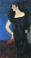 Portrait of Rose von Rosthorn-Friedmann, 1901, klimt