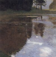 Quiet pond in the park of Appeal, 1899, klimt