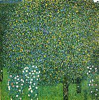 Roses under the Trees, c.1905, klimt