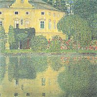 Schloss Kammer on the Attersee IV, 1910, klimt