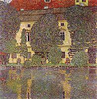 Schloss Kammer on the Attersee, 1910, klimt