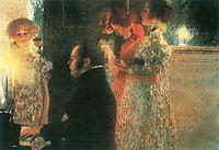 Schubert at the Piano II, 1899, klimt