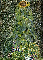 The Sunflower, 1907, klimt