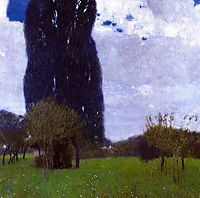 The Tall Poplar Trees II, 1900, klimt