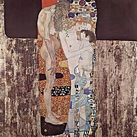 The Three Ages of Woman, 1905, klimt