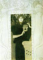 Tragedy, 1897, klimt