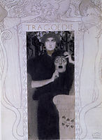 Tragödie (Tragedy), 1897, klimt