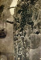 University of Vienna Ceiling Paintings (Medicine), final state, 1907, klimt