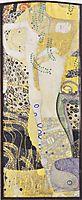 Watersnakes, 1907, klimt