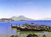 Bay of Naples, 1843, kobke