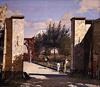 The North Gate of the Citadel, 1834, kobke