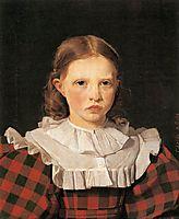 Portrait of Adolphine Købke, Sister of the Artist, 1832, kobke