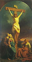 Christ of the Cross, 1859, koler