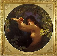 Eve with a Pomegranate, 1880, koler
