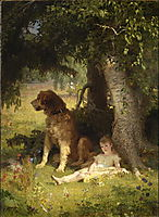 Faithful Guardian, 1878, koler