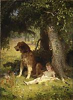 Faithful Guardian, 1878, koler