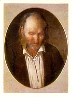 Portrait of the Artist-s Father, 1864, koler