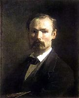 Self portrait, 1859, koler