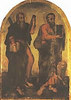 Icon of Apostles Andrew and Mark , kondzelevych