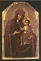 Icon of the Mother of God from the Maniava Hermitage iconostasis , 1705, kondzelevych