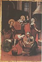 Icon The Nativity of Virgin Mary (fragment), kondzelevych