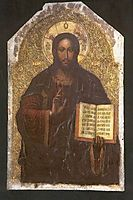 Icon of the Savior from the Maniava Hermitage iconostasis1698, 1705, kondzelevych