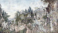 An Enchanted Garden, 1882, kotarbinski