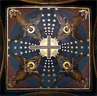 Ceiling at Kiev St. Vladimir Cathedral, kotarbinski