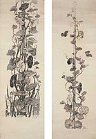 Moth and Convolvulus (thumbnail panels), kotarbinski