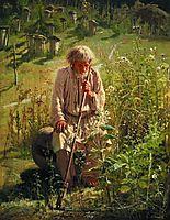 Beekeeper , 1872, kramskoy