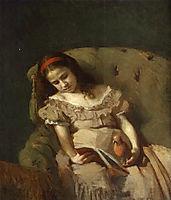 Books Got Her, 1872, kramskoy