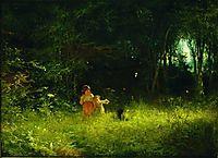 Childrenin theforest, 1887, kramskoy