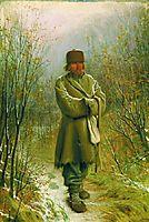 Contemplator , 1876, kramskoy