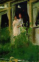 Convalescent, 1885, kramskoy