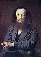 D. I. Mendeleev, 1878, kramskoy