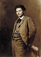 Fyodor Vasilyev, 1871, kramskoy