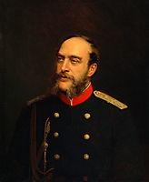 Georg August von Mecklenburg Strelitz, 1876, kramskoy