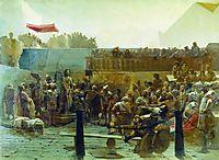 Laughter (Hail, king of Judah) , 1882, kramskoy