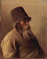 The Miller, 1873, kramskoy
