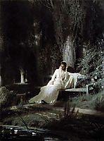 Moonlit Night , 1880, kramskoy