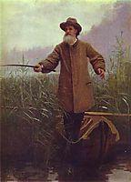 Poet Apollon Nikolaevich Maikov , 1883, kramskoy